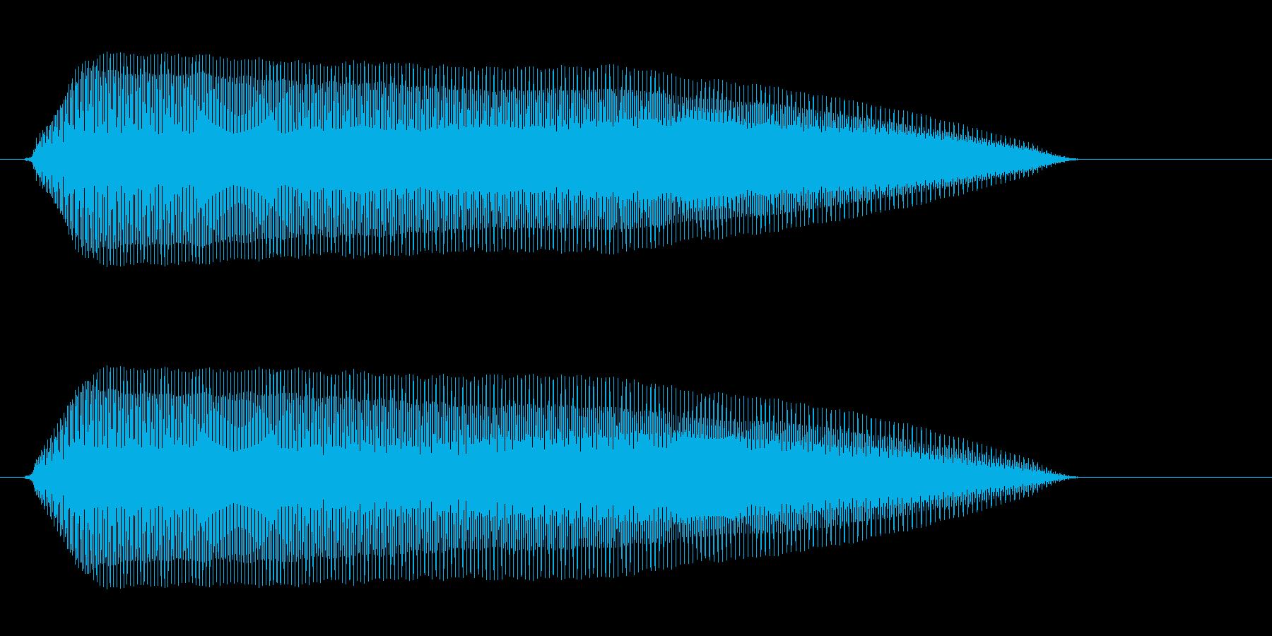 プーン(可愛らしい)の再生済みの波形