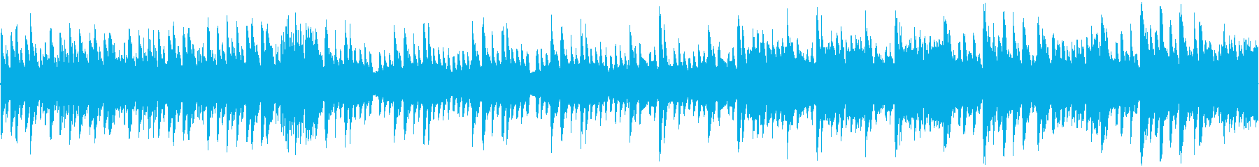 8bit ポップに爽快な宇宙 ループ音源の再生済みの波形