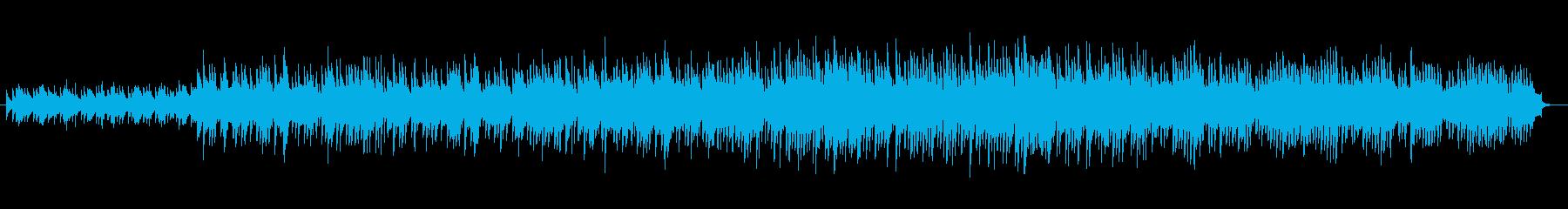 アップテンポなマリンバが印象的なインストの再生済みの波形
