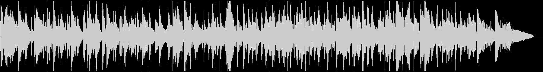 切ないテナーサックスのバラード、ラウンジの未再生の波形
