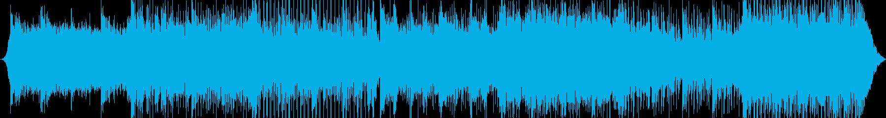 ポップ テクノ モダン 未来 テク...の再生済みの波形