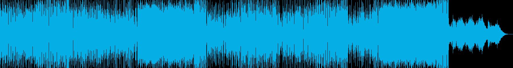 ドタバタコメディ・アニメ調ポップ 長尺の再生済みの波形