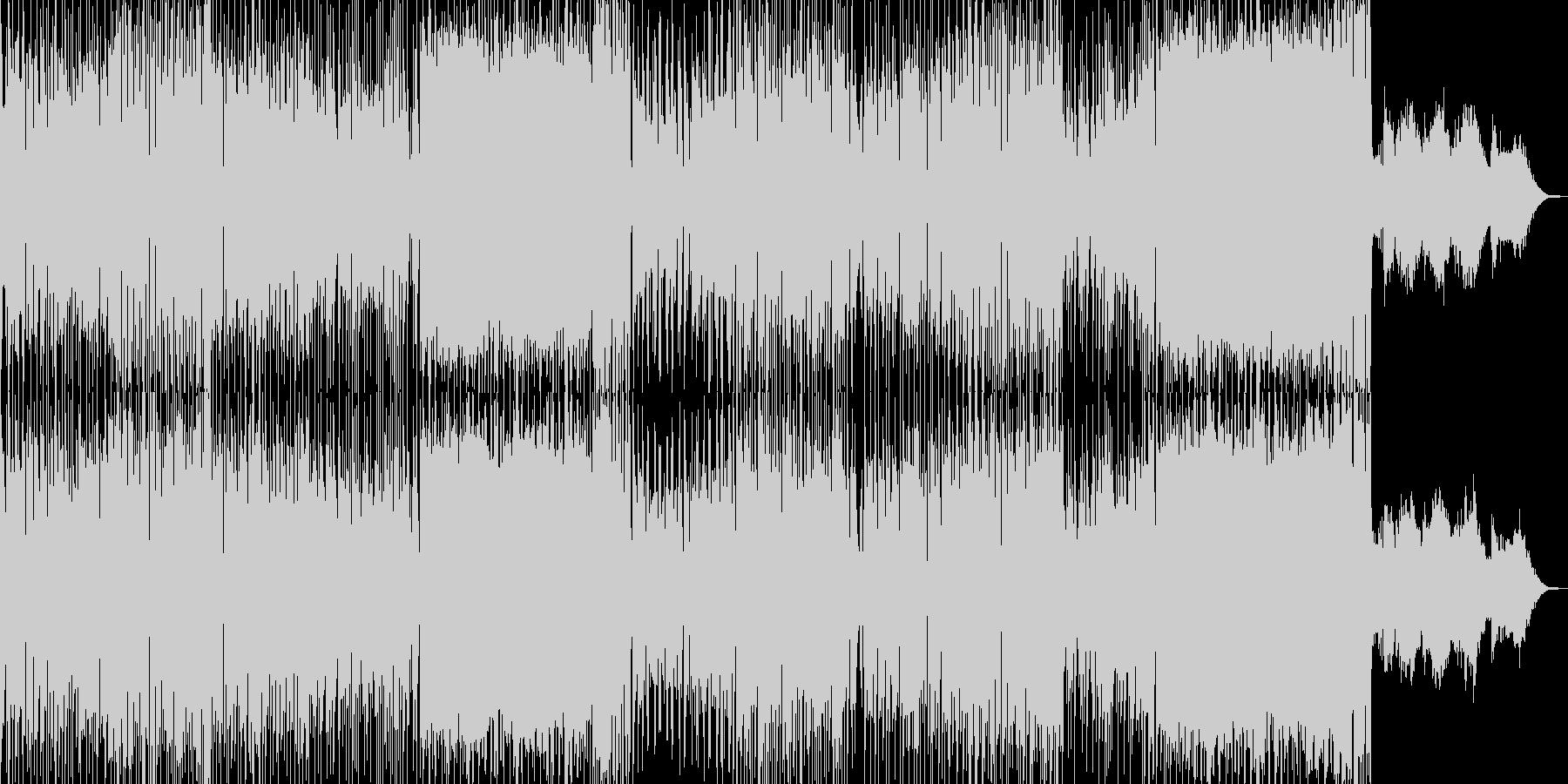 ドタバタコメディ・アニメ調ポップ Bの未再生の波形
