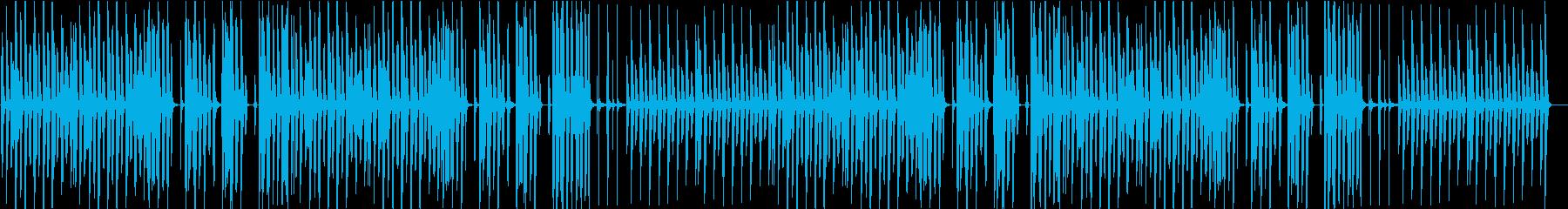 猫・日常・ほのぼの・リコーダー・軽快の再生済みの波形
