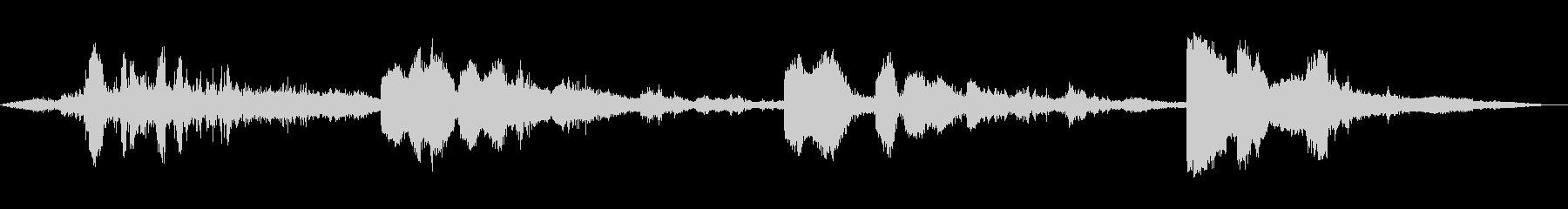 ヘビースタティックスパークスの未再生の波形
