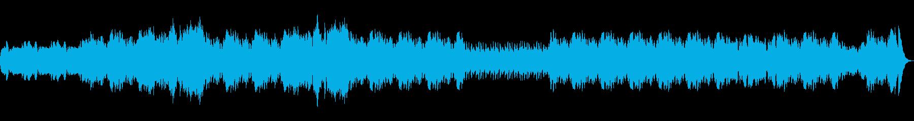 ずっと転がっていくような旋律の再生済みの波形