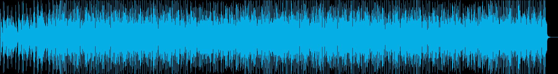 ちょっと不思議で元気でポップなBGMの再生済みの波形