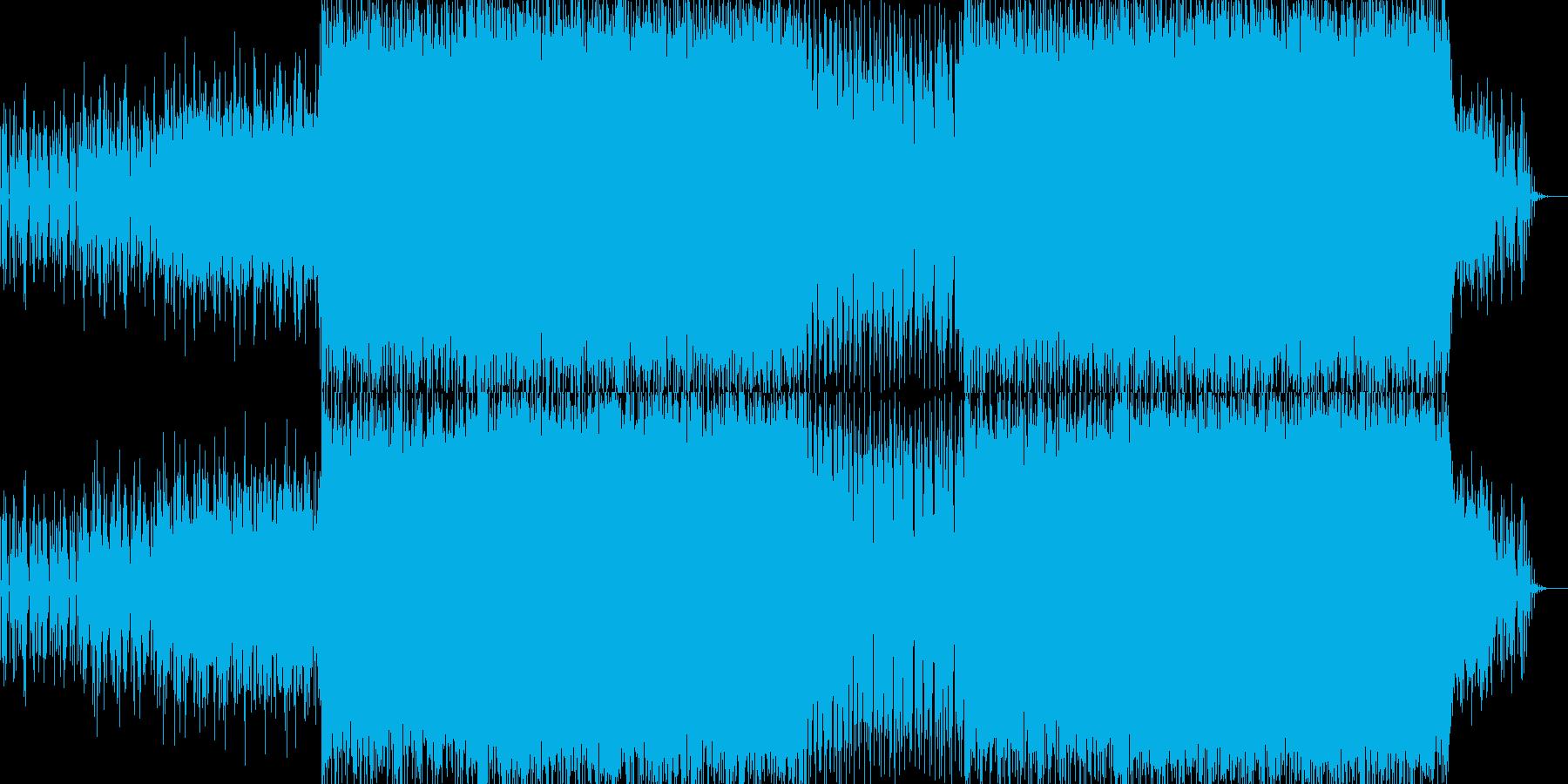 EDMクラブ系ダンスミュージック-123の再生済みの波形