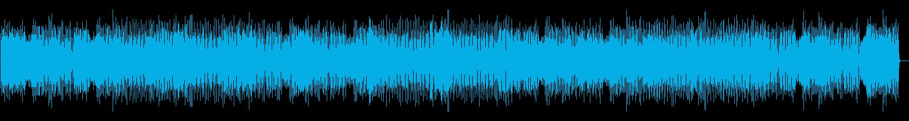 コミカルで楽しいジプシージャズBGMの再生済みの波形