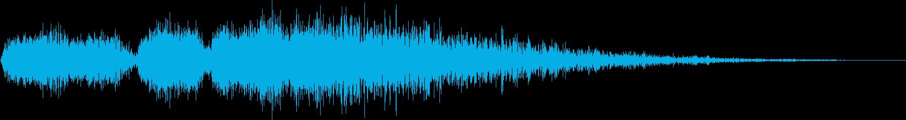 フォトンエネルギーブラストの再生済みの波形