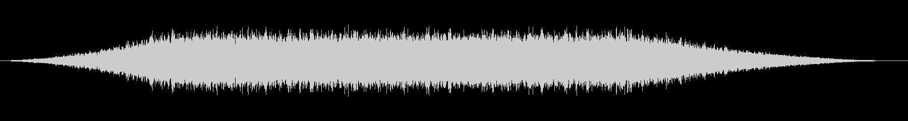 不気味な不協和音のキラキラ音 (ロング)の未再生の波形