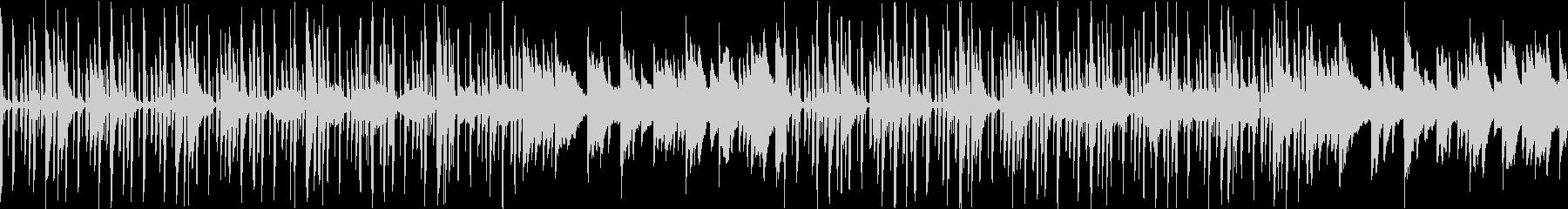 【ドラム抜き】ほのぼの明るい素朴なBGMの未再生の波形
