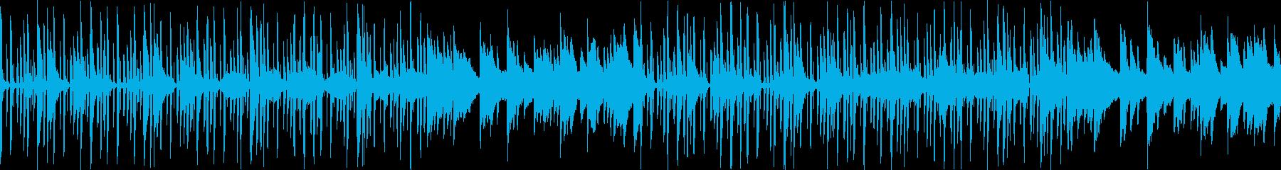 【ドラム抜き】ほのぼの明るい素朴なBGMの再生済みの波形