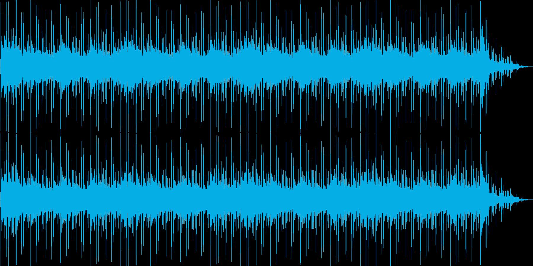 明るく爽やかな30秒BGMの再生済みの波形