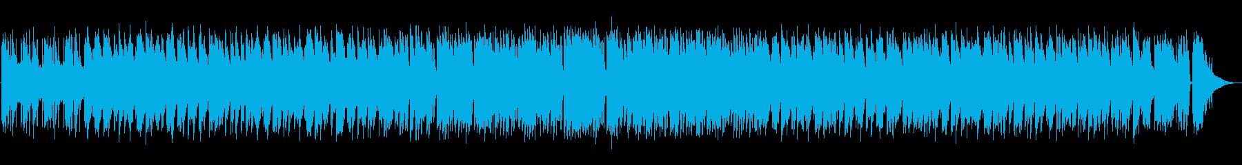 休日・リラックス・カフェ・ジャズの再生済みの波形