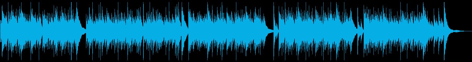 穏やかな午後のイメージのピアノソロの再生済みの波形