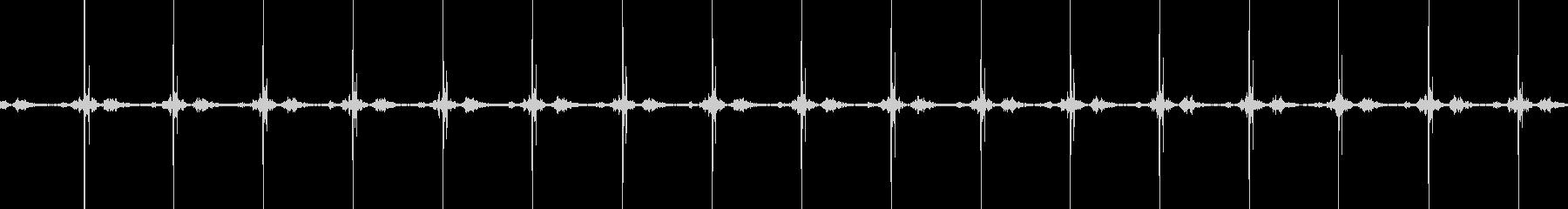 心臓シミュレーター;オン、ライトベ...の未再生の波形