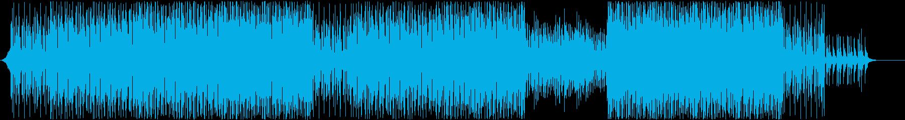 洋楽オープニング!爽やかキラキラ明るい1の再生済みの波形