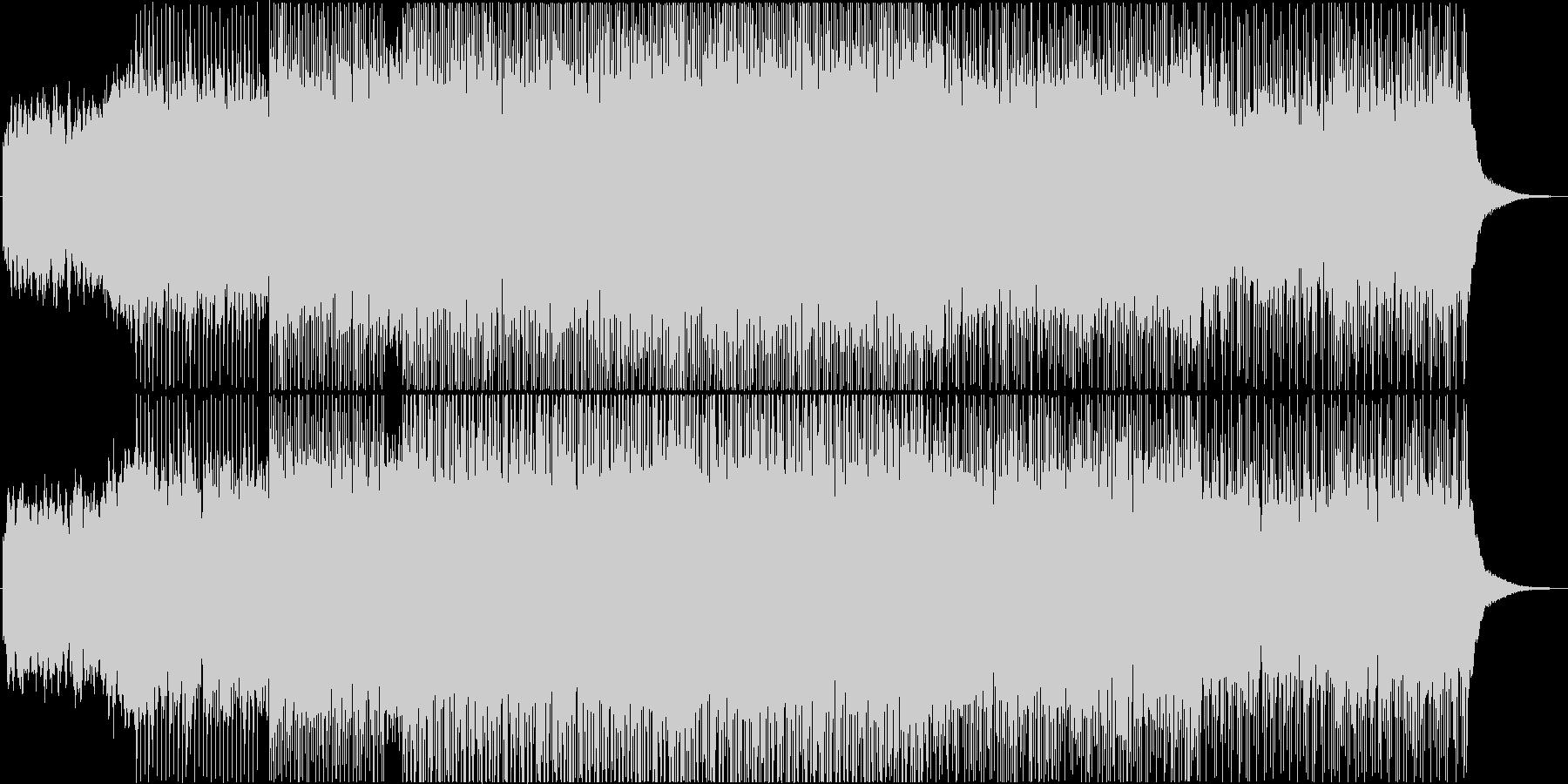 都会的なエレクトロポップ の未再生の波形