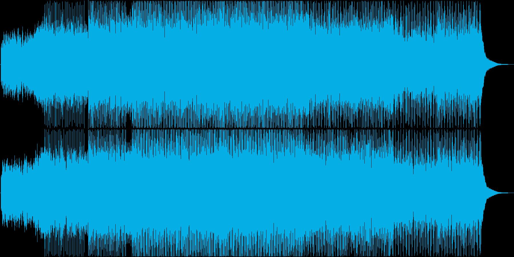 都会的なエレクトロポップ の再生済みの波形
