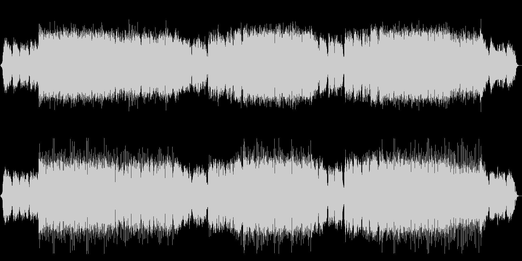 Japanese style house EDM Japanese shakuhachi performance's unreproduced waveform
