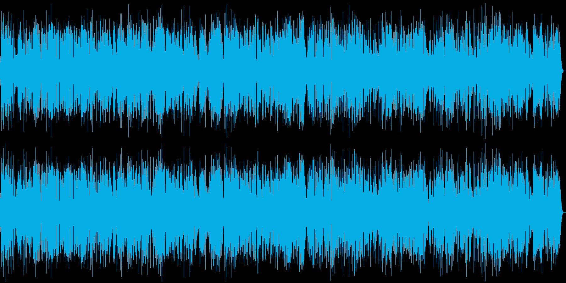 ギター・お洒落なジャズ/オープニング等にの再生済みの波形
