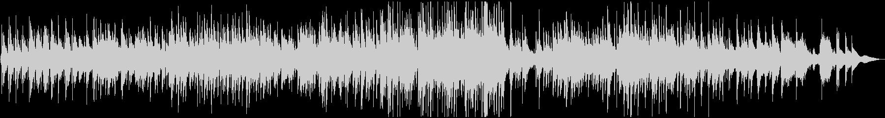 童謡『琵琶湖周航の歌』のジャズワルツの未再生の波形