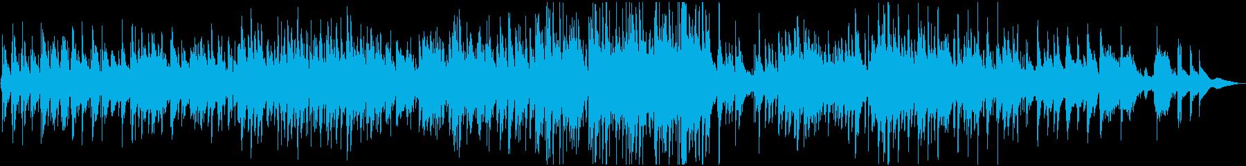 童謡『琵琶湖周航の歌』のジャズワルツの再生済みの波形