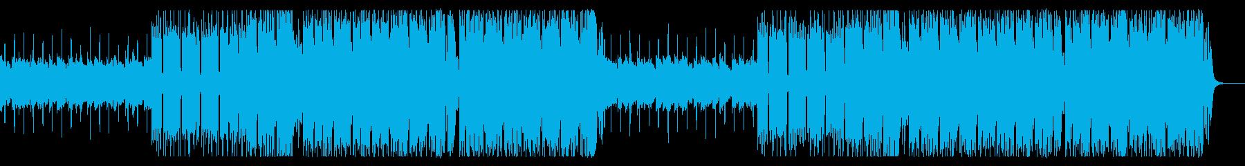 爽快・クール・Future Bassの再生済みの波形