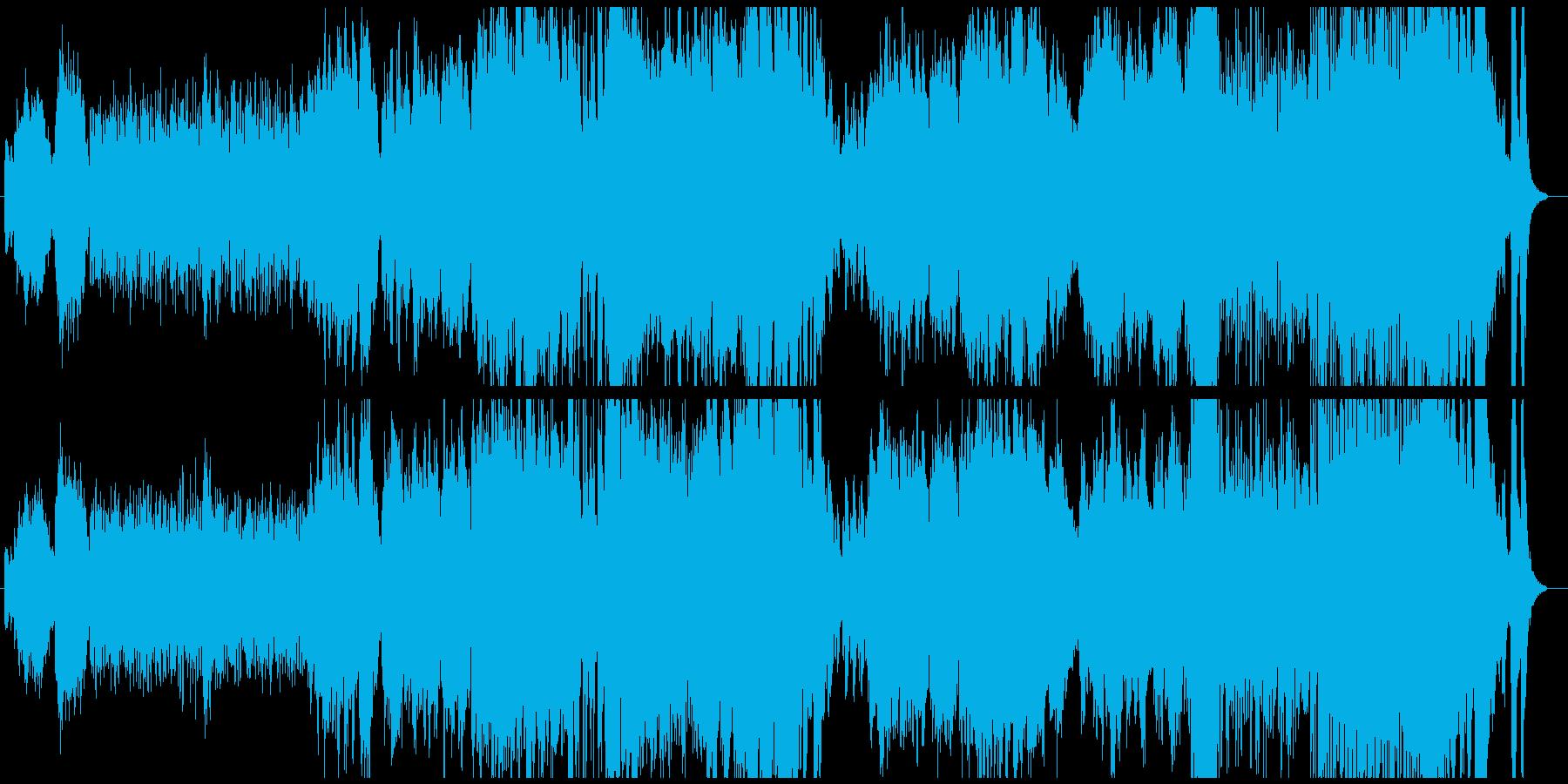 オーケストラサウンドのゲーム音楽です。の再生済みの波形