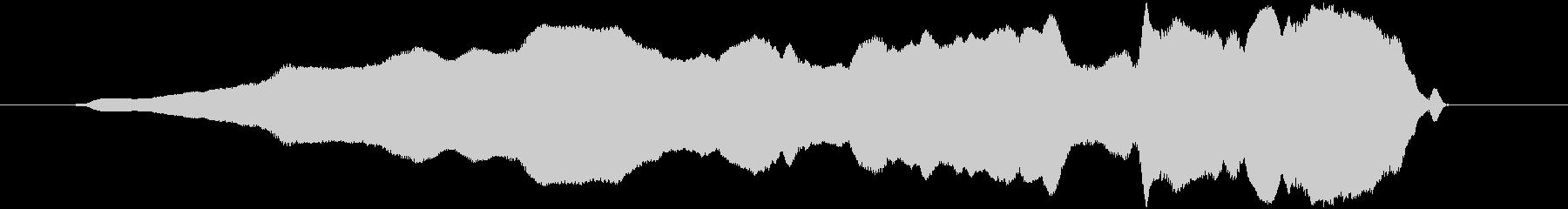 ピィウィッ(高い オノマトペ)の未再生の波形