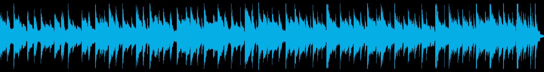 さわやかで軽快な日常系BGM(ループ)の再生済みの波形