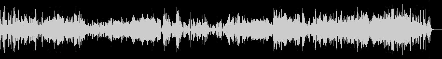 元気が出るピアノソナタの未再生の波形