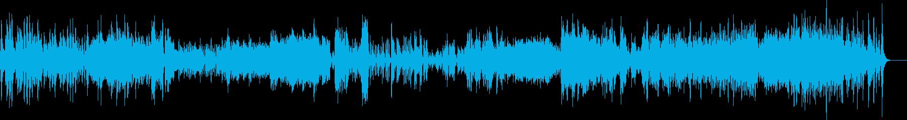 元気が出るピアノソナタの再生済みの波形