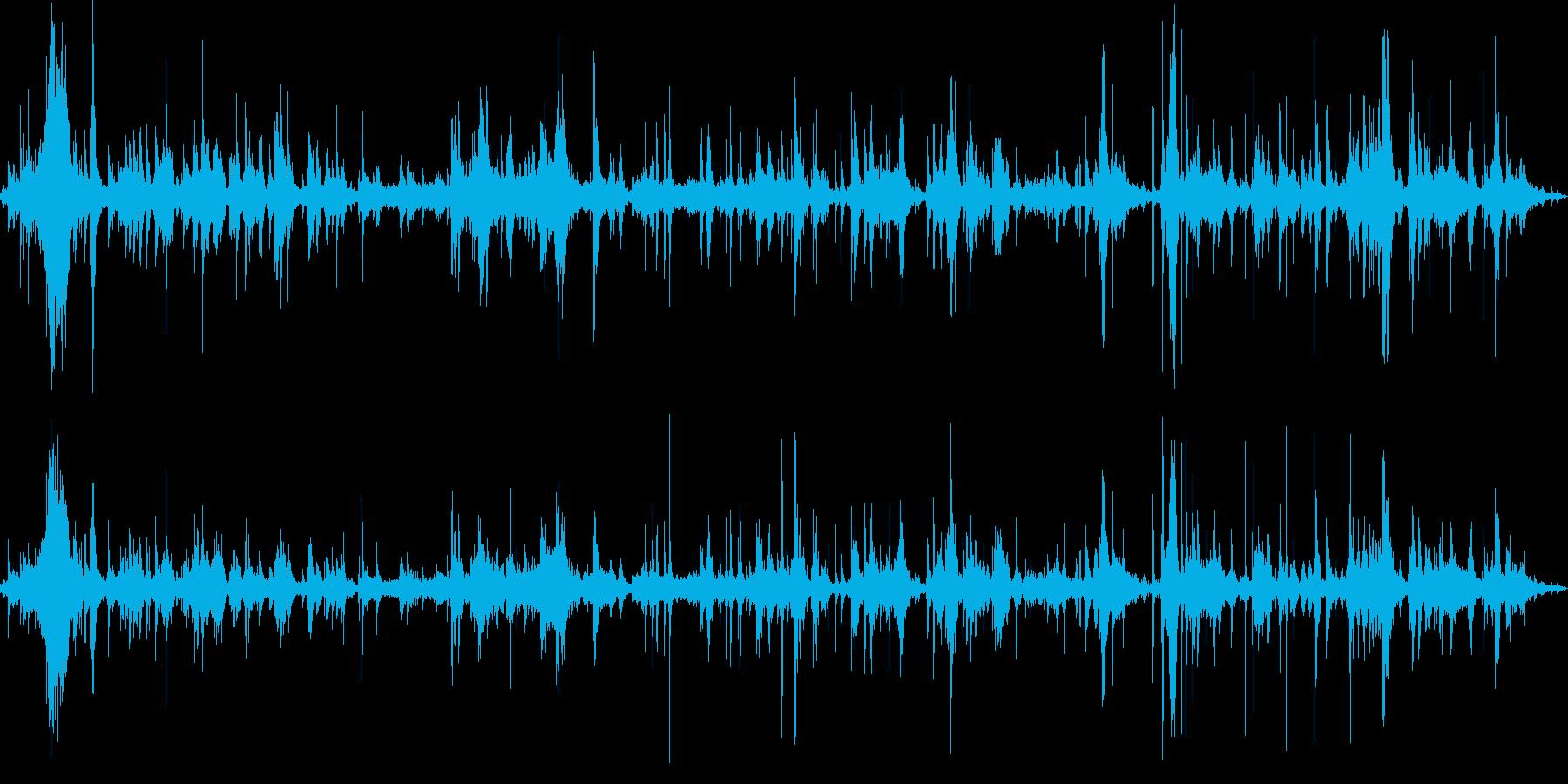 アルミホイルで包むの再生済みの波形