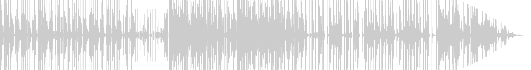 スラップとSAXがおしゃれなDJサウンドの未再生の波形