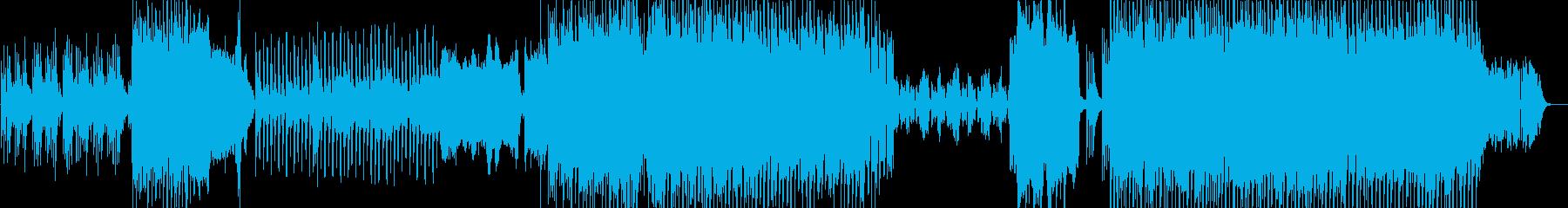 切なさや情緒を感じる琴主体の和風インストの再生済みの波形