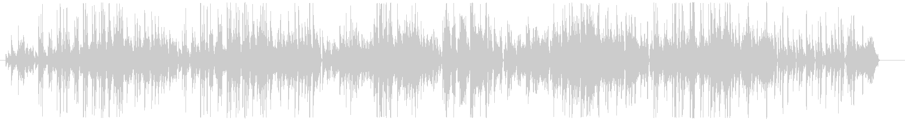 小気味の良いピアノのボサノヴァの未再生の波形