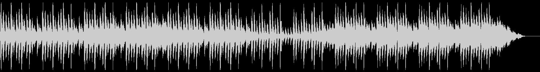 神秘的で幻想的なアンビエント楽曲の未再生の波形