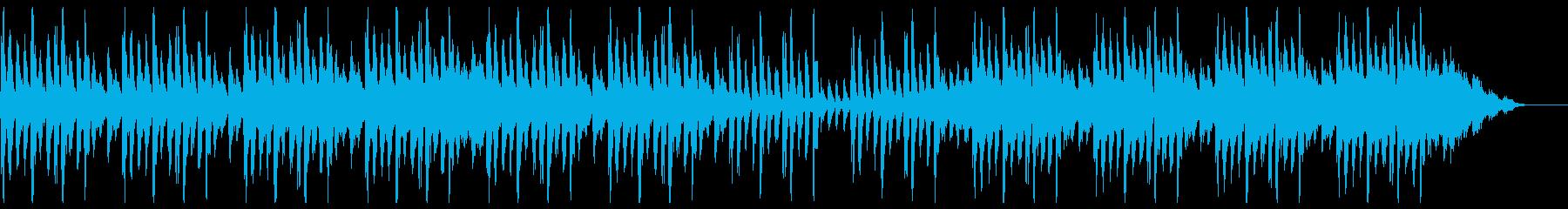 神秘的で幻想的なアンビエント楽曲の再生済みの波形