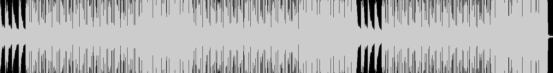 ピアノとフルートが印象的なヒップホップの未再生の波形