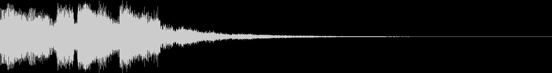 決定 アイコン 出現 表示 レベル Aの未再生の波形