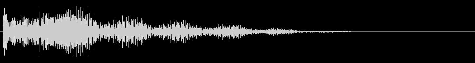 XYLO ARPEGGIOアクセント1の未再生の波形