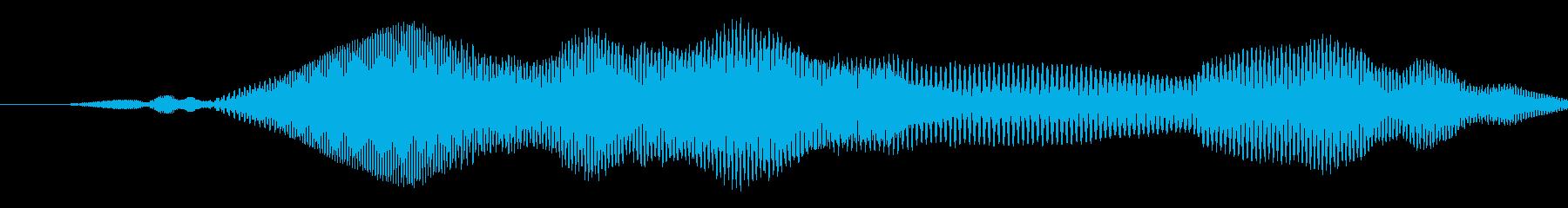 漫画スライドwhiがポップアップの再生済みの波形