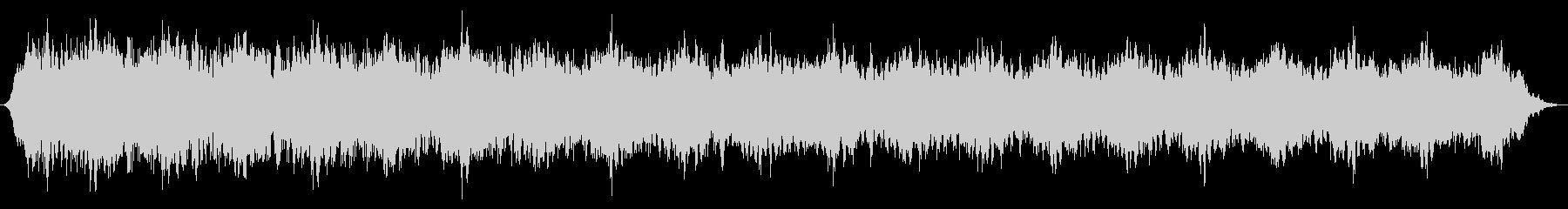 スローシャッターシンセドローンの未再生の波形
