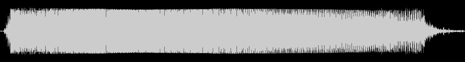 ギターメタルパワーコードzzbの未再生の波形