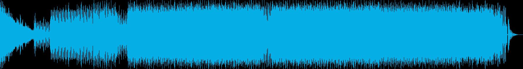 Molly tripなプログレサイケの再生済みの波形