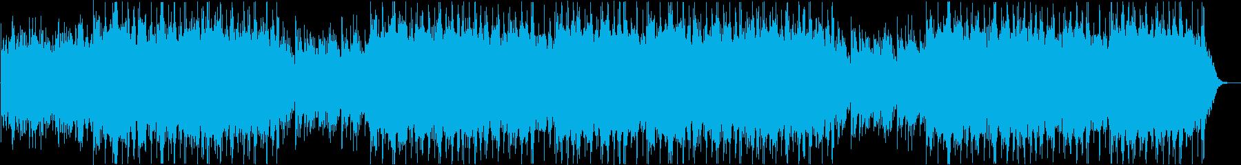 高揚感と希望に満ちた流れるようなサウンドの再生済みの波形