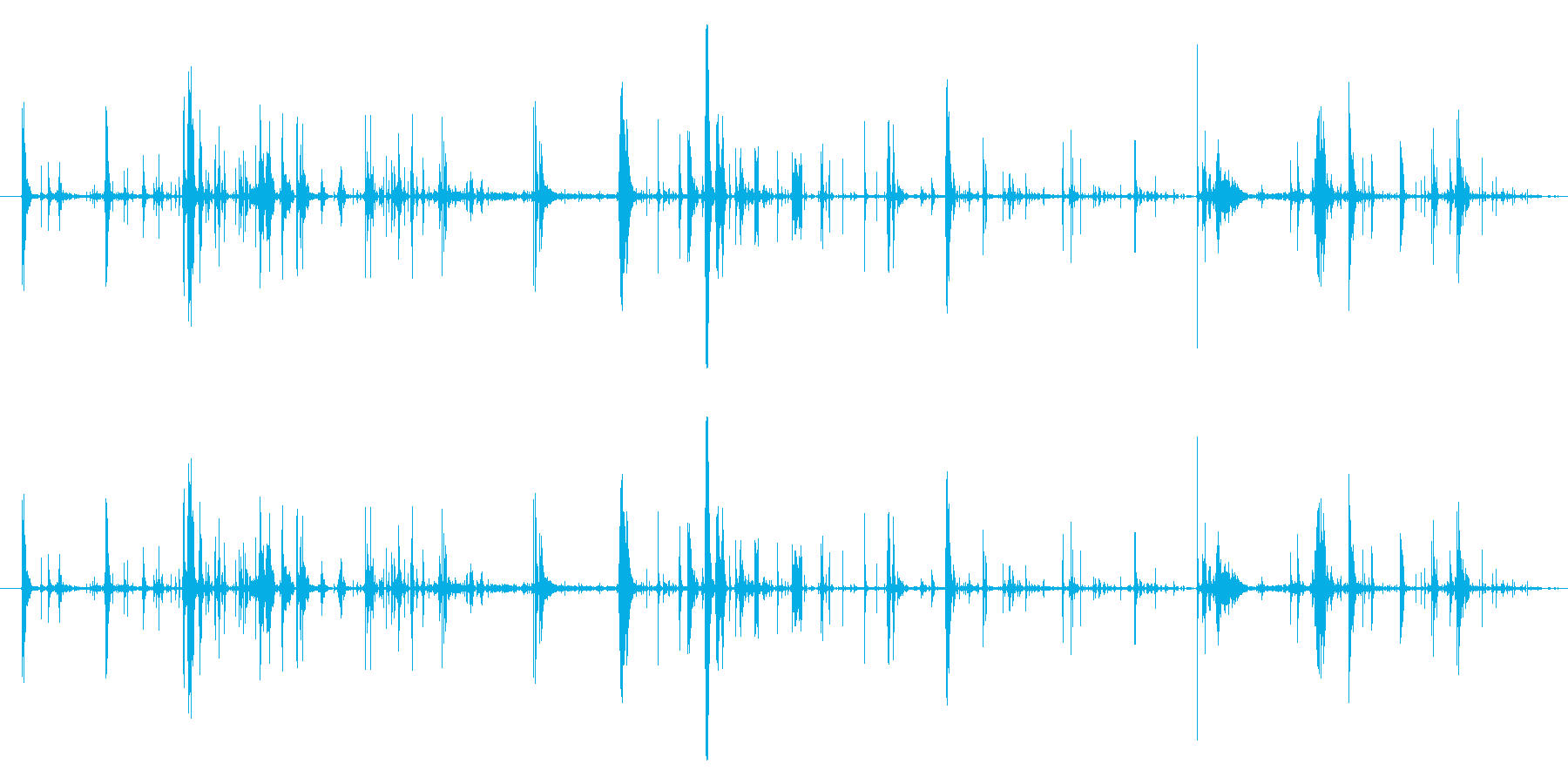 モンスター 肉食12の再生済みの波形