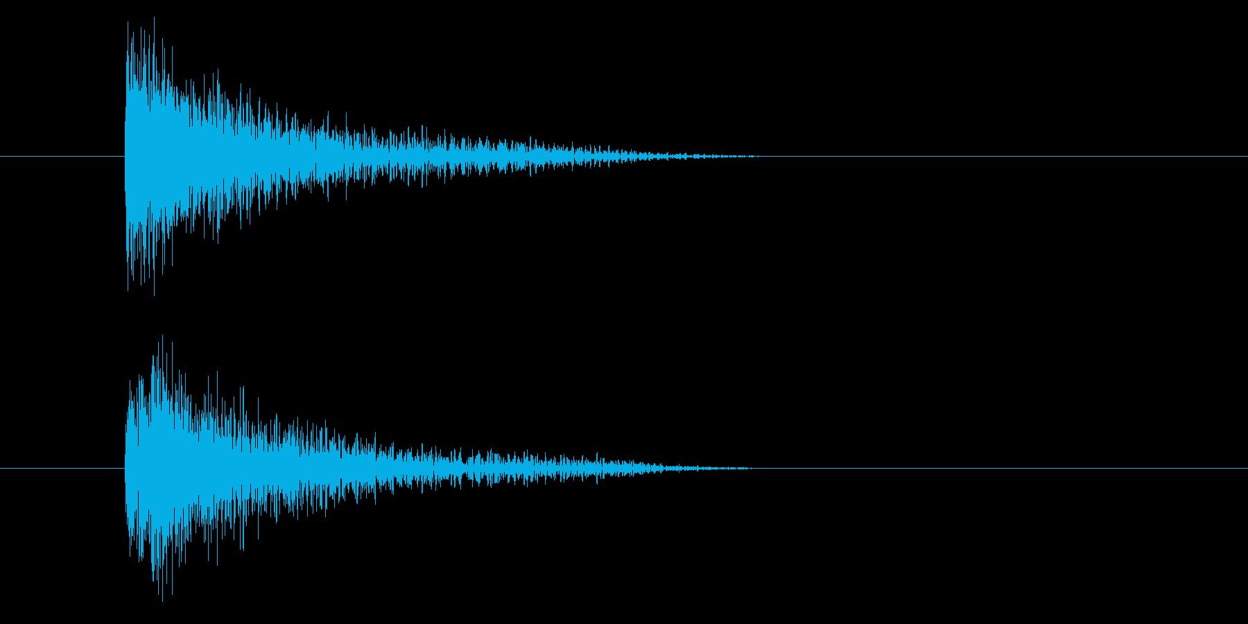 ジャン!和楽器オケヒ_音程低めの再生済みの波形